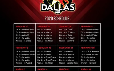 Dallas Rugby 2019-2020 Season