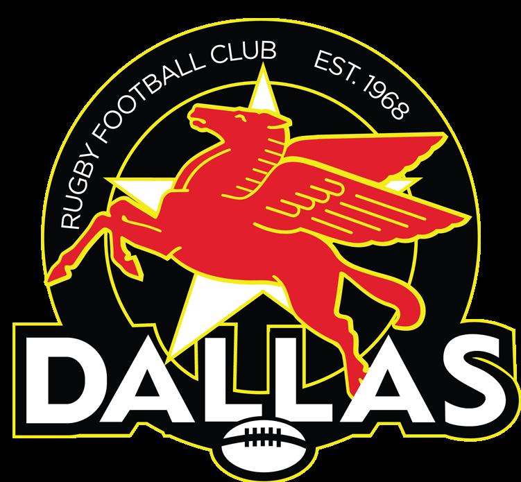Dallas Rugby Logo- Pegasus