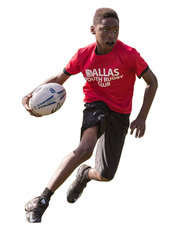 Dallas Youth rugby player