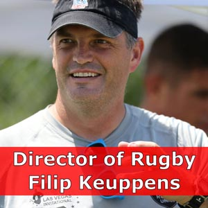 Director of Rugby Fil Keuppens