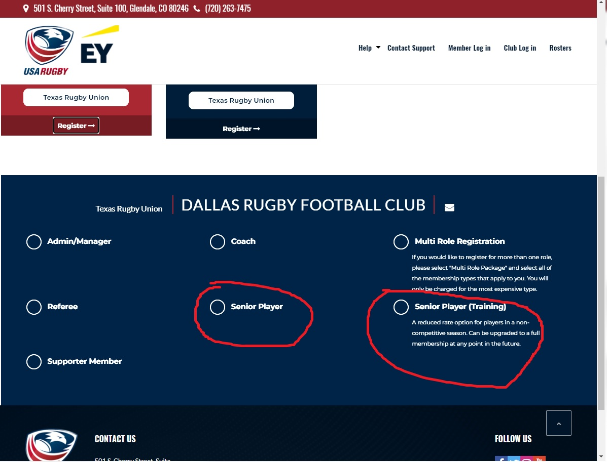 How to Search for Dallas Rugby on Sportslomo website